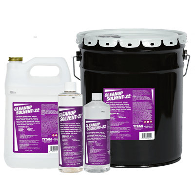 Cleanup Solvent-22 in all sizes