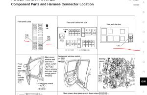Which fuse controls the power windows?  Nissan Titan Forum