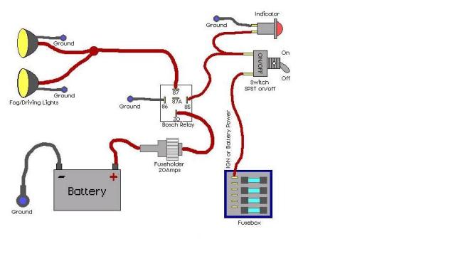wiring diagram for led fog lights - wiring diagram, Wiring diagram