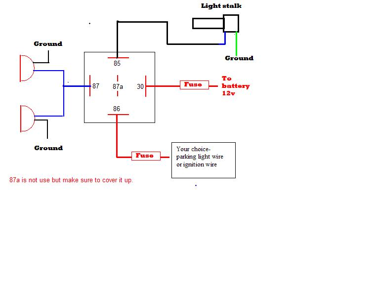 Aftermarket Fog Light Wiring Diagram Nilzanet – Wiring Diagram For Fog Lights
