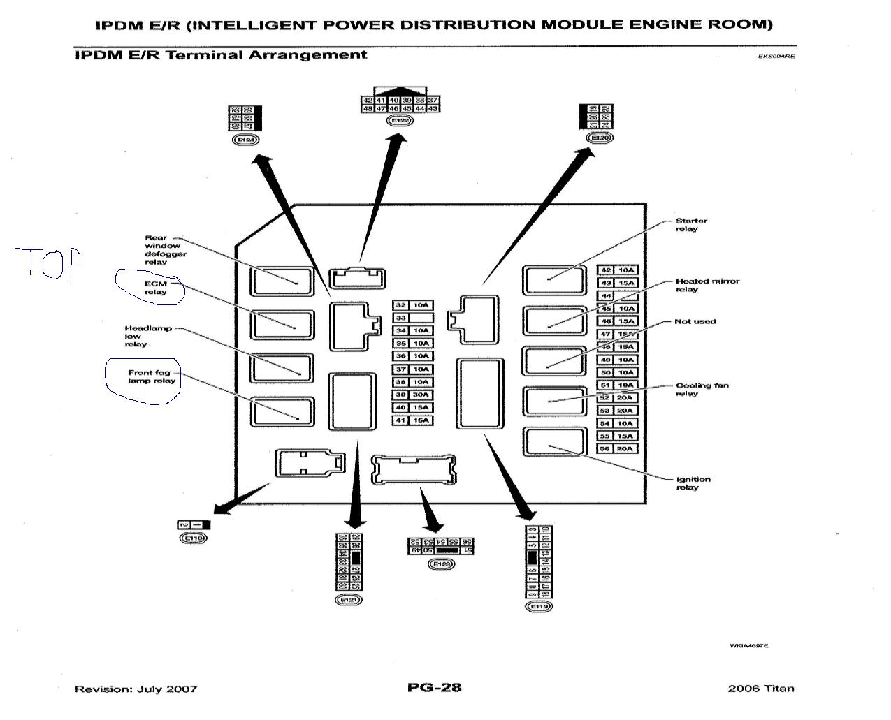 Nissan Frontier Ipdm Wiring Diagram