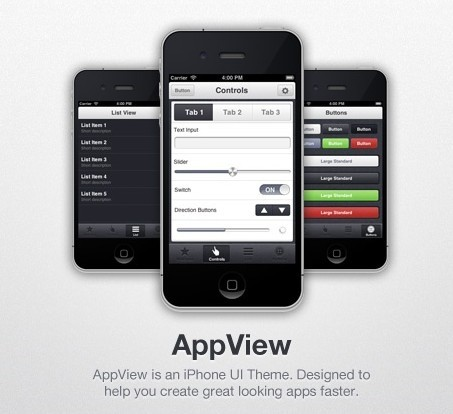 AppView - iPhone App UI