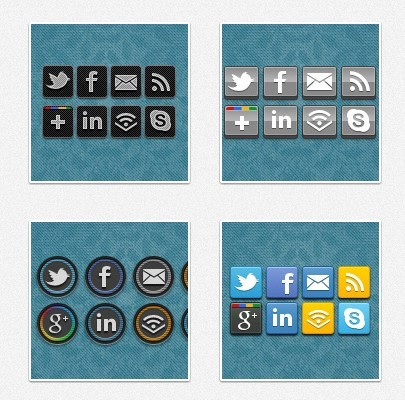 By People SOCIAL ICONS