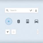 Google Map UI