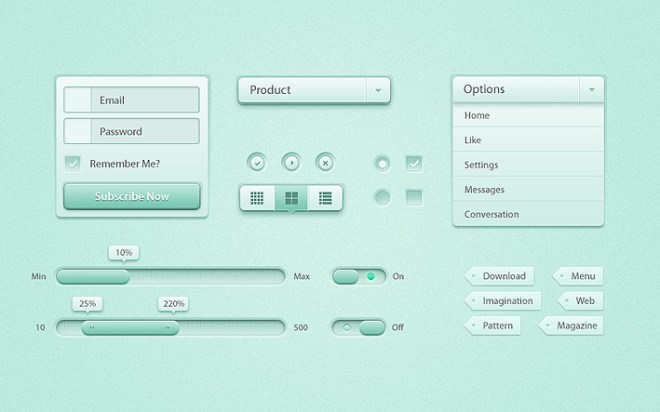 UI KIT Buttons for Free