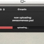 Uploader Mac App UI
