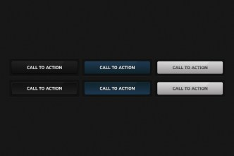 3 Colors Call To Action Buttons
