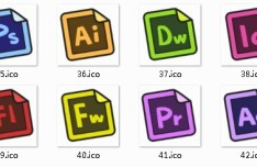 Angular Paper Web Design Tools Icons