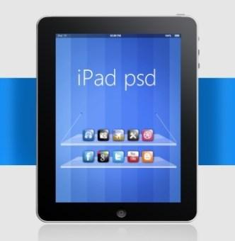 Apple iPad Full Layered PSD