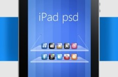 Apple iPad Full Layered PSD