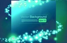 Beautiful Blue Shine Vector Background 04