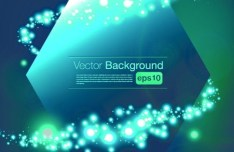 Beautiful Blue Shine Vector Background 05