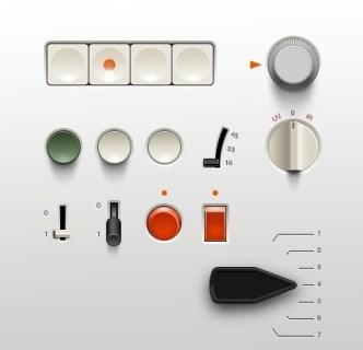 Braun UI Kit PSD