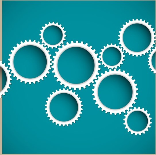 Circular Border Vector Material 02