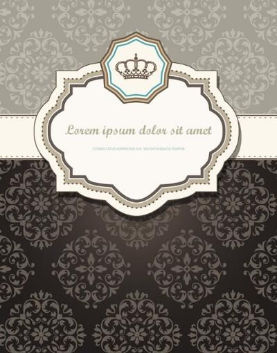 Classic European Pattern Background 01