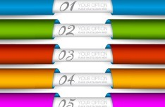 Colored Ribbon 05