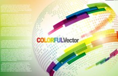 Colorful Abstract Vector Background 02