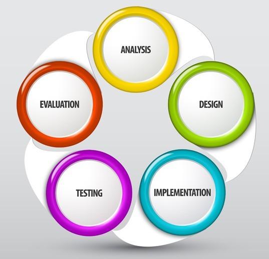 Free Colorful Round Label Design Vector - TitanUI