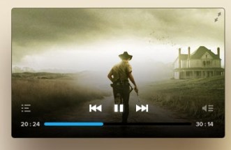 Cool PSD video player