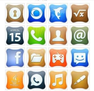 Creative Mobile Desktop Icons