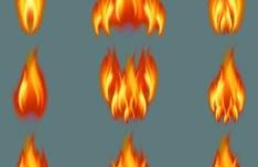 Fire Flames Vector