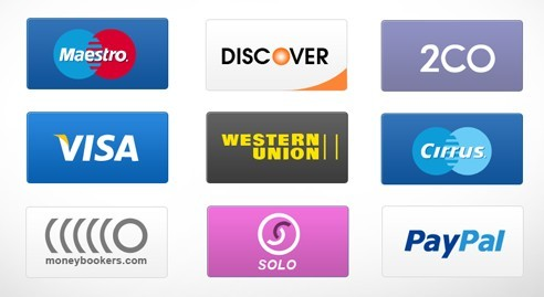 High Quality Payment Service Icons