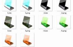 LCD Monitors Icons
