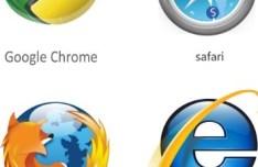 Modern Browsers Vector Logos