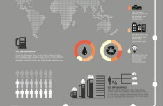 Oil Theme Business Infographics