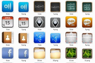 Personalized Mobile Desktop Icons