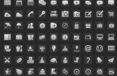 Premium Quality Web Icons Layered PSD