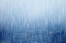 Rain Drops Vector Background