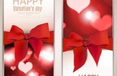 Romantic Valentine's Day Vector Banner 02