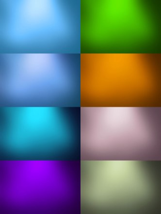 Set of Colorful Background Textures
