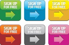 Sign Up Button Vector 02