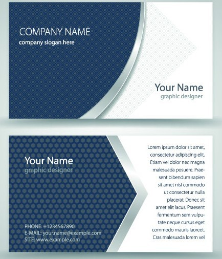 Free simple business cards vector 03 titanui simple business card vector 03 reheart Choice Image