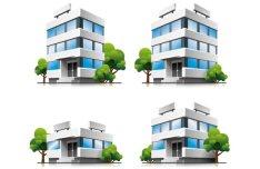 Three-dimensional Building Model 01