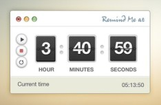 Timer and Stopwatch PSD Interface