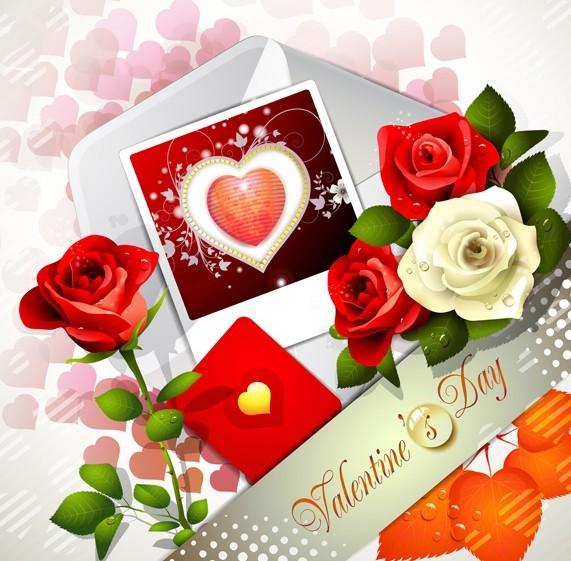 Valentine Day Love Flower 01