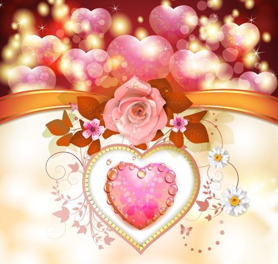 Valentine Day Love Flower 03