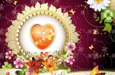 Valentine Day Love Flower 05