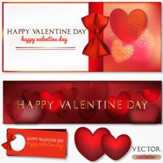 Valentine's Day Elements Vector