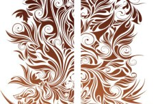 Vector Flourishes Pattern