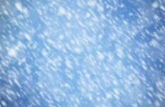 Vector Snowing Background