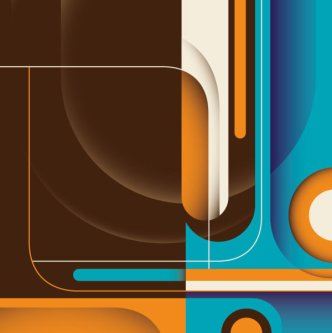 abstract dynamic flow line 2