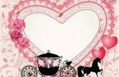 Elegant Valentine's Day Vector Illustration 03