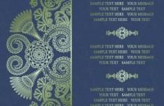Vintage Flourish Vector Patterns