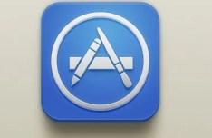 iOS App Store Icon PSD
