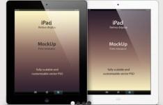 iPad Retina Mockup PSD