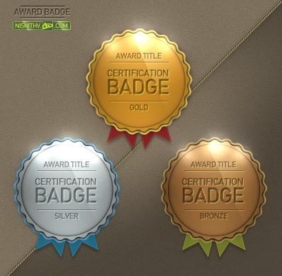 Free Premium Quality Award Badge Template Psd Titanui